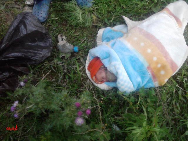 العثور على جثة رضيع حديث الولادة مرمية بالشارع العام وتساؤلات حول انتشار هذه الظاهرة