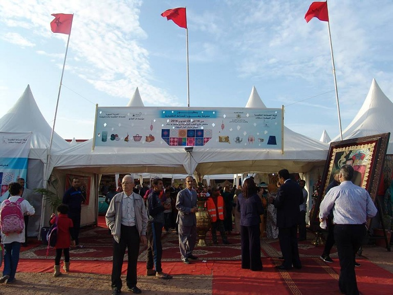 افتتاح فعاليات المعرض الجهوي للصناعة التقليدية بالدار البيضاء