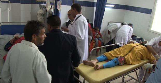 ارتفاع عدد ضحايا حفل الخطوبة إلى 12 إثر انقلاب شاحنة ببرشيد
