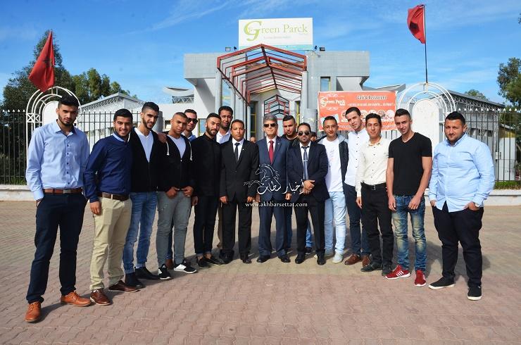 السفير الفلسطيني زهير الشن في زيارة لمدينة سطات + صور