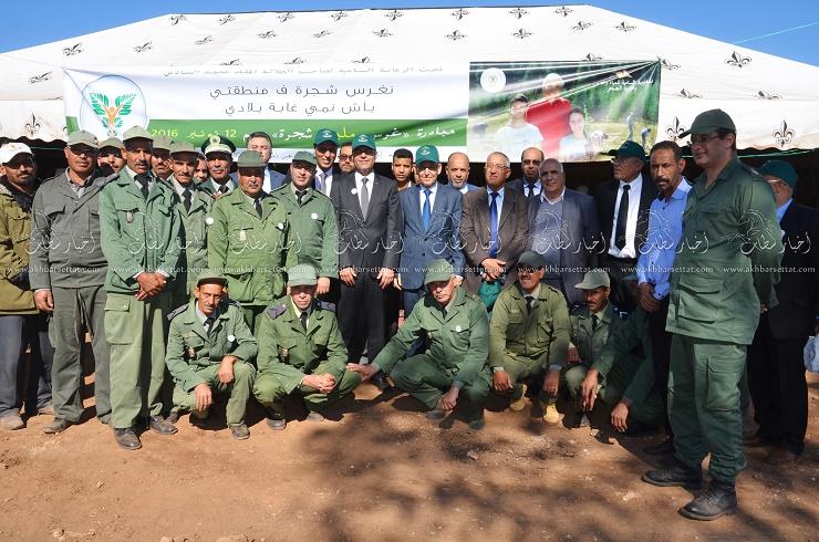 سطات تشارك في مبادرة غرس أكثر من مليون شجرة خلال يوم واحد