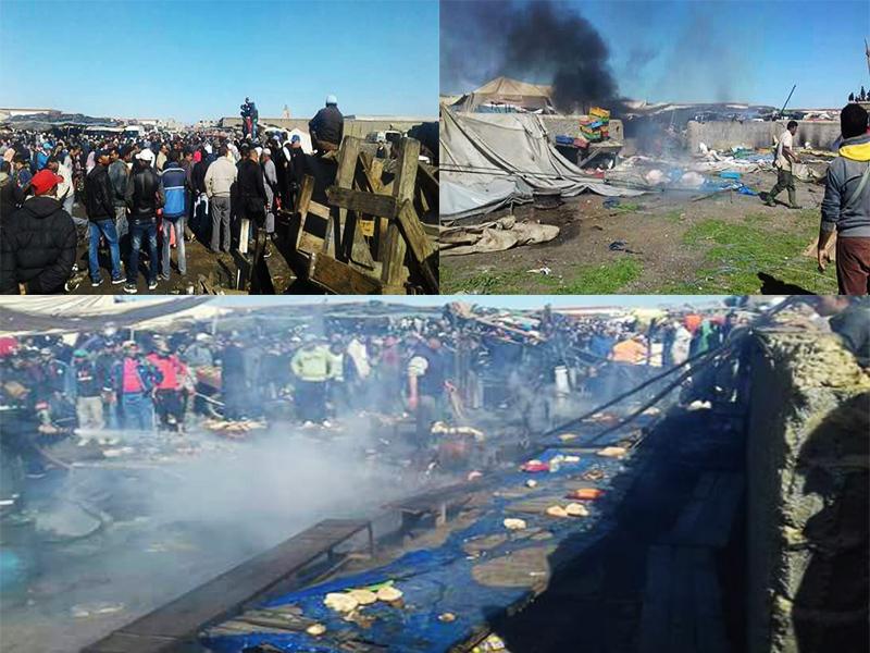 عاجل: انفجار قوي يهز سوقا محليا بعين عودة وأنباء عن حصيلة تقيلة من الضحايا