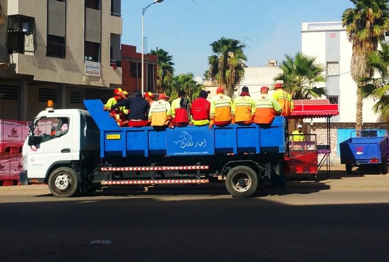 سطات: رصد امكانيات بشرية ومادية هامة لنظافة المدينة استعداداً لأشغال الكوب22