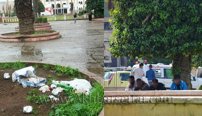 سطات : عندما تتحول حدائقها إلى أوكار للدعارة وممارسة الرذيلة