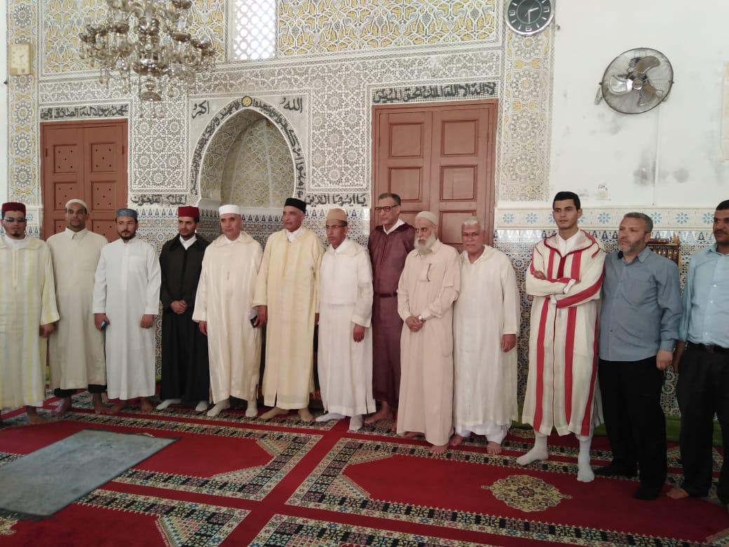 مؤسسة محمد السادس للنهوض بالأعمال الاجتماعية للقيمين الدينيين بسطات توزع إعانات على أرامل قيمين دينيين