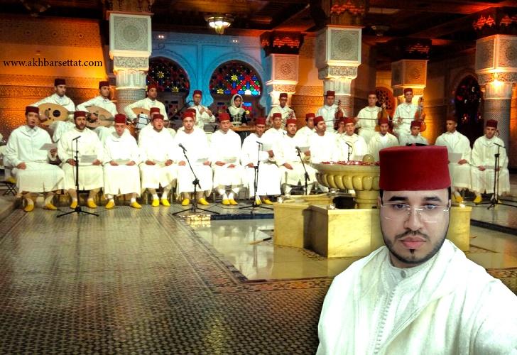 """المنشد الشاب """" أنس مِسْطَع """" يمثل مدينة سطات في عمل فني ضخم سيبث على القناة الأولى طيلة شهر رمضان"""