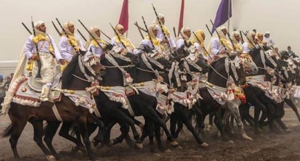 فرسان الشاوية ينتزعون الجائزة الكبرى للملك محمد السادس لفنون الفروسية التقليدية (التبوريدة)