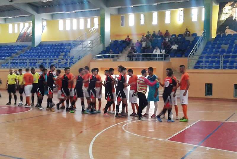 الفتح الرياضي السطاتي لكرة القدم داخل القاعة يتأهل إلى نصف نهاية كأس العرش