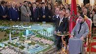 """الملك محمد السادس يترأس حفل تقديم مشروع احداث """"مدينة محمد السادس طنجة تيك"""""""