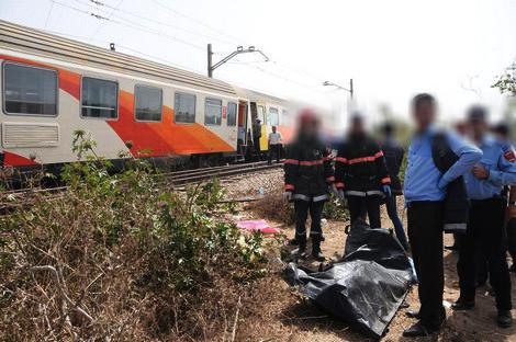 قطار « الخليع » يقتل شخصا بسيدي العايدي نواحي سطات