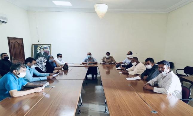 المجلس الجماعي الجديد للبروج يعقد اولى جلساته في دورة استثنائية