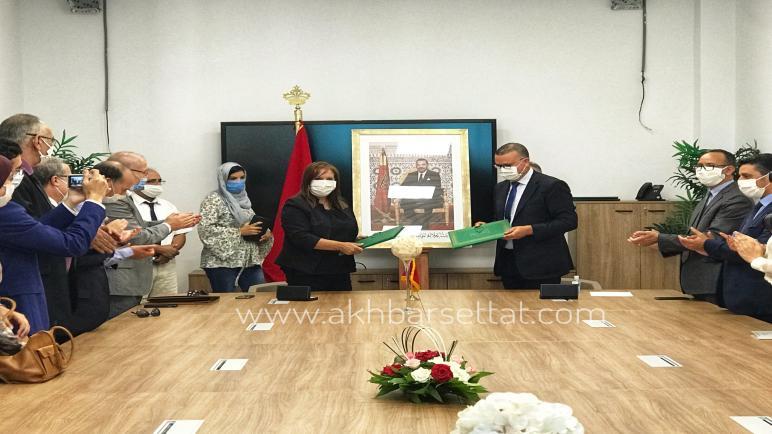 الصافي تشرف على توطين وكالة جامعية ل ANAPEC داخل جامعة الحسن الأول