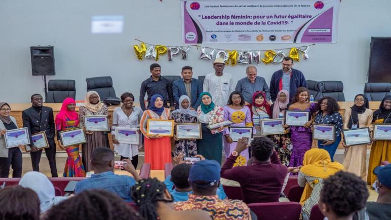 Clôture des activités des leaders féministes à la faculté de Settat
