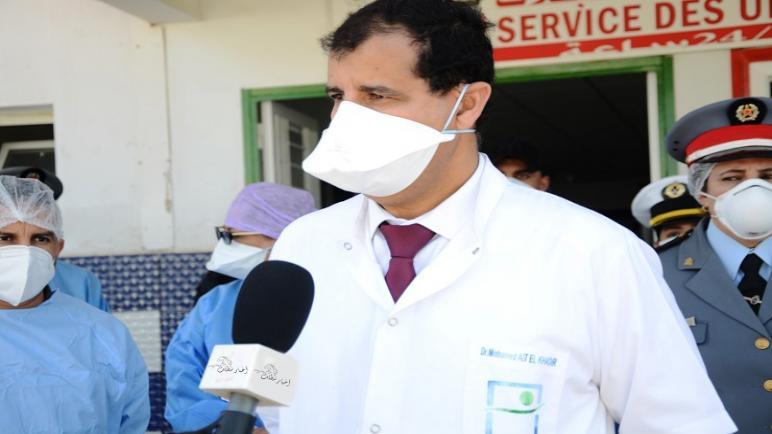 """المندوب الإقليمي للصحة في حوار مع جريدة """"أخبار سطات"""" يبسط الوضعية الوبائية بالاقليم"""