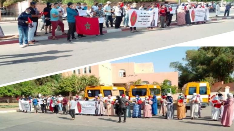 مهنيو قطاع تموين و تنظيم الحفلات بالبروج يخرجون للاحتجاج